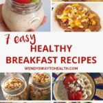 Having A Healthy Breakfast Everyday Is Easy, With A Little Bit Of ..
