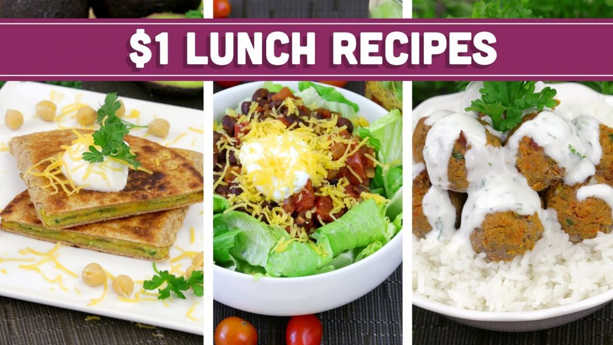 Healthy $11 Lunch Recipes - Easy Budget Meals! - Mind Over Munch - Healthy Recipes Youtube