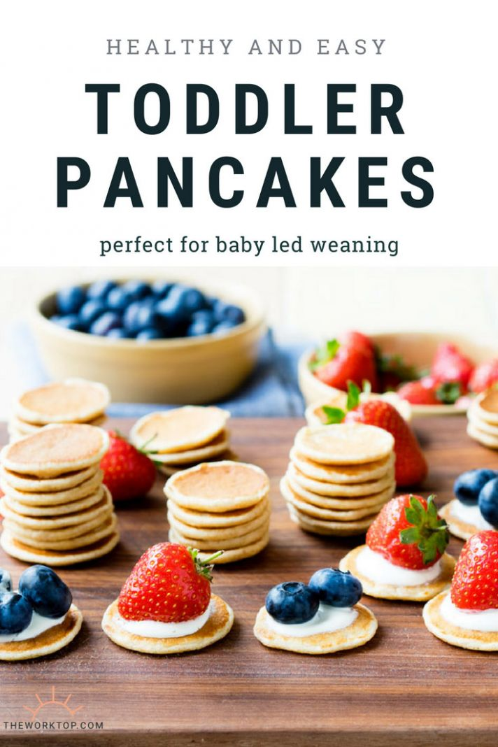 Healthy and Easy Pancakes for Toddlers - Breakfast Recipes For Babies