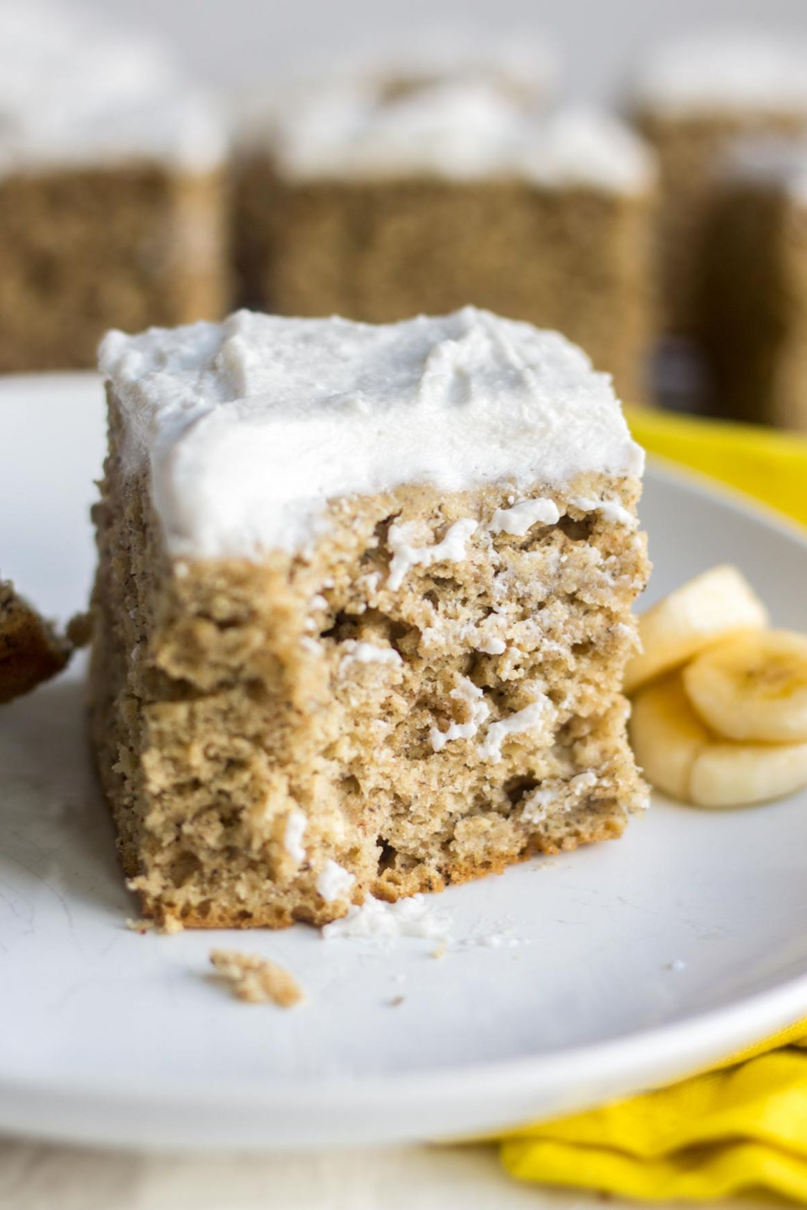 Healthy Banana Cake - Healthy Recipes Cakes
