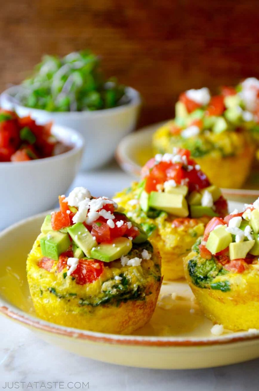 Healthy Breakfast Egg Muffins - Recipes Egg Muffins