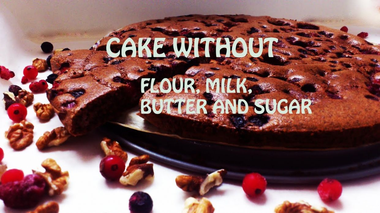 HEALTHY CAKE without flour,butter, milk and sugar - Dessert Recipes No Flour