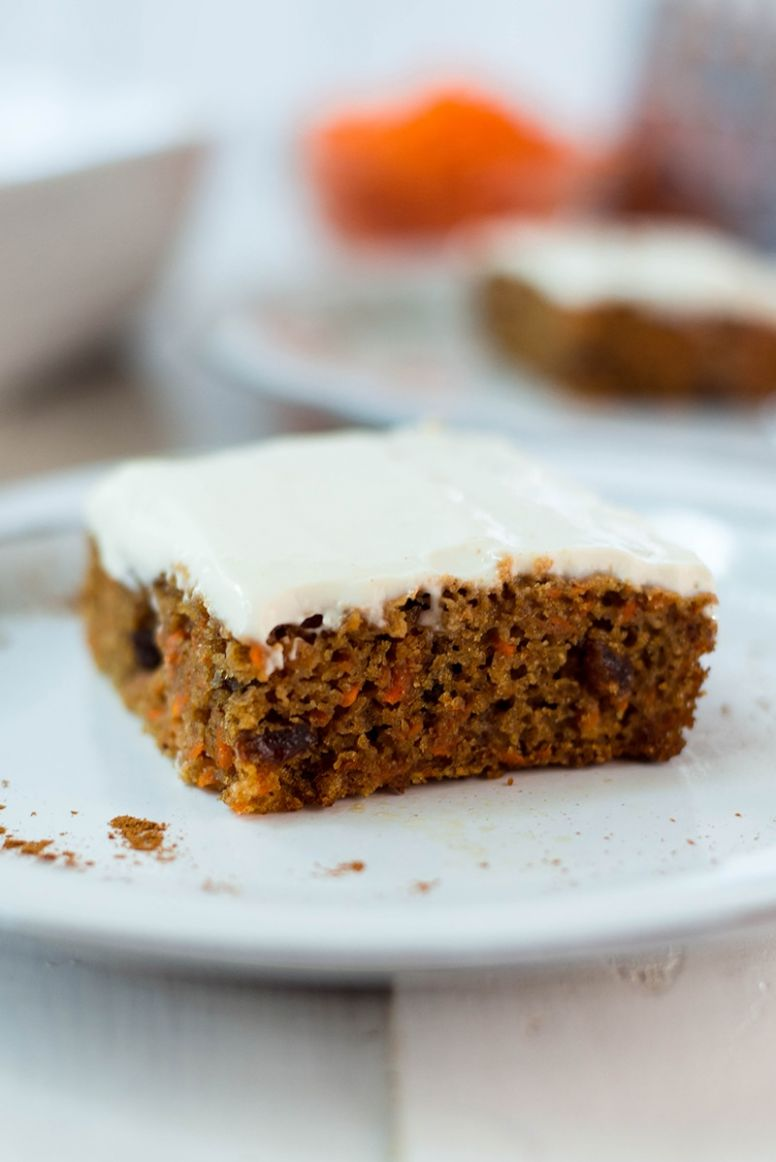 Healthy Carrot Cake Recipe - Healthy Recipes Cakes