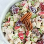 Healthy Chicken Salad With Grapes, Apples And Tarragon Yogurt Dressing – Recipe Chicken Breast Grapes