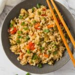 Healthy Fried Brown Rice With Vegetables – Recipes Rice And Vegetables