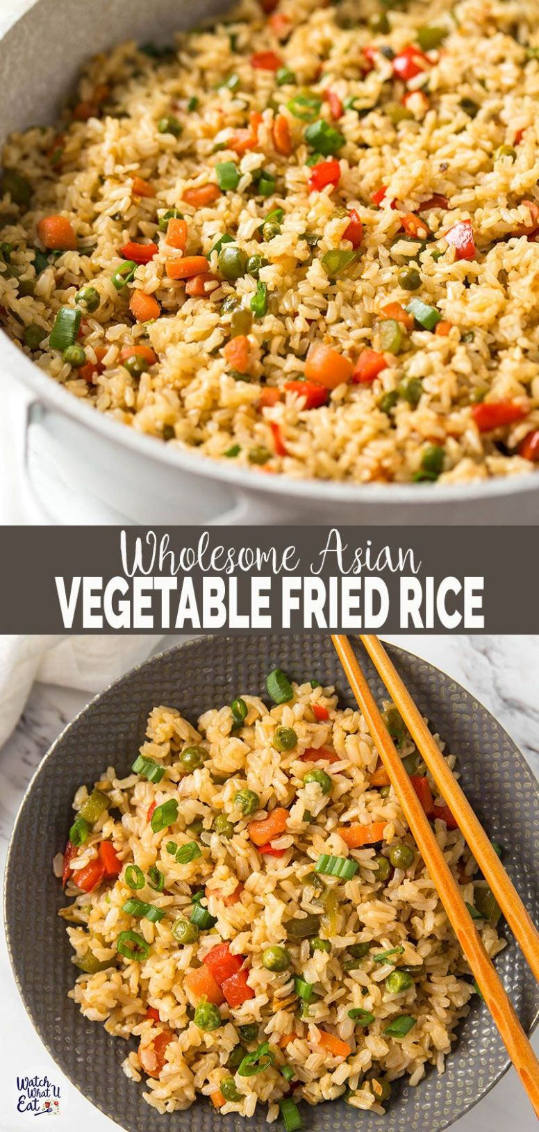 Healthy Fried Brown Rice With Vegetables - Rice Recipes Dairy Free