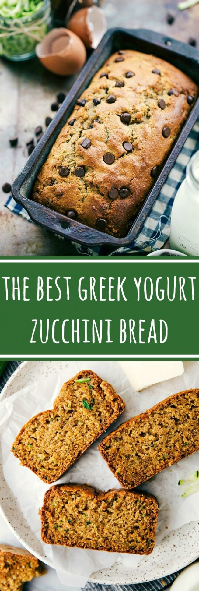 Healthy Greek Yogurt Zucchini Bread - Healthy Recipes Zucchini Bread