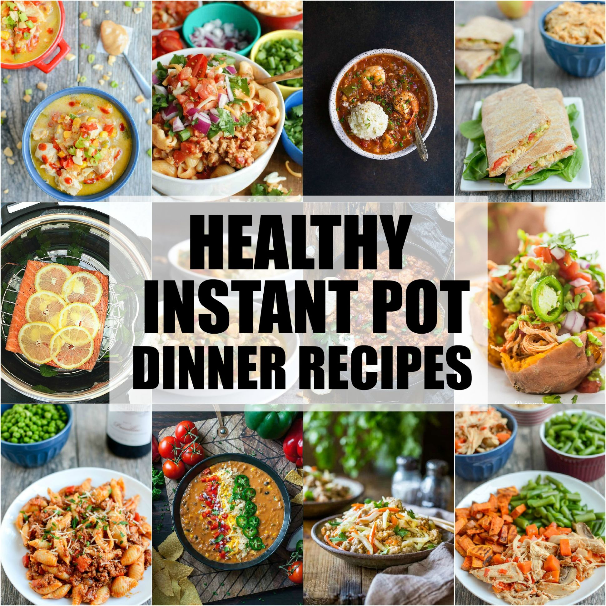 Healthy Instant Pot Dinner Recipes | The Lean Green Bean - Dinner Recipes Instant Pot