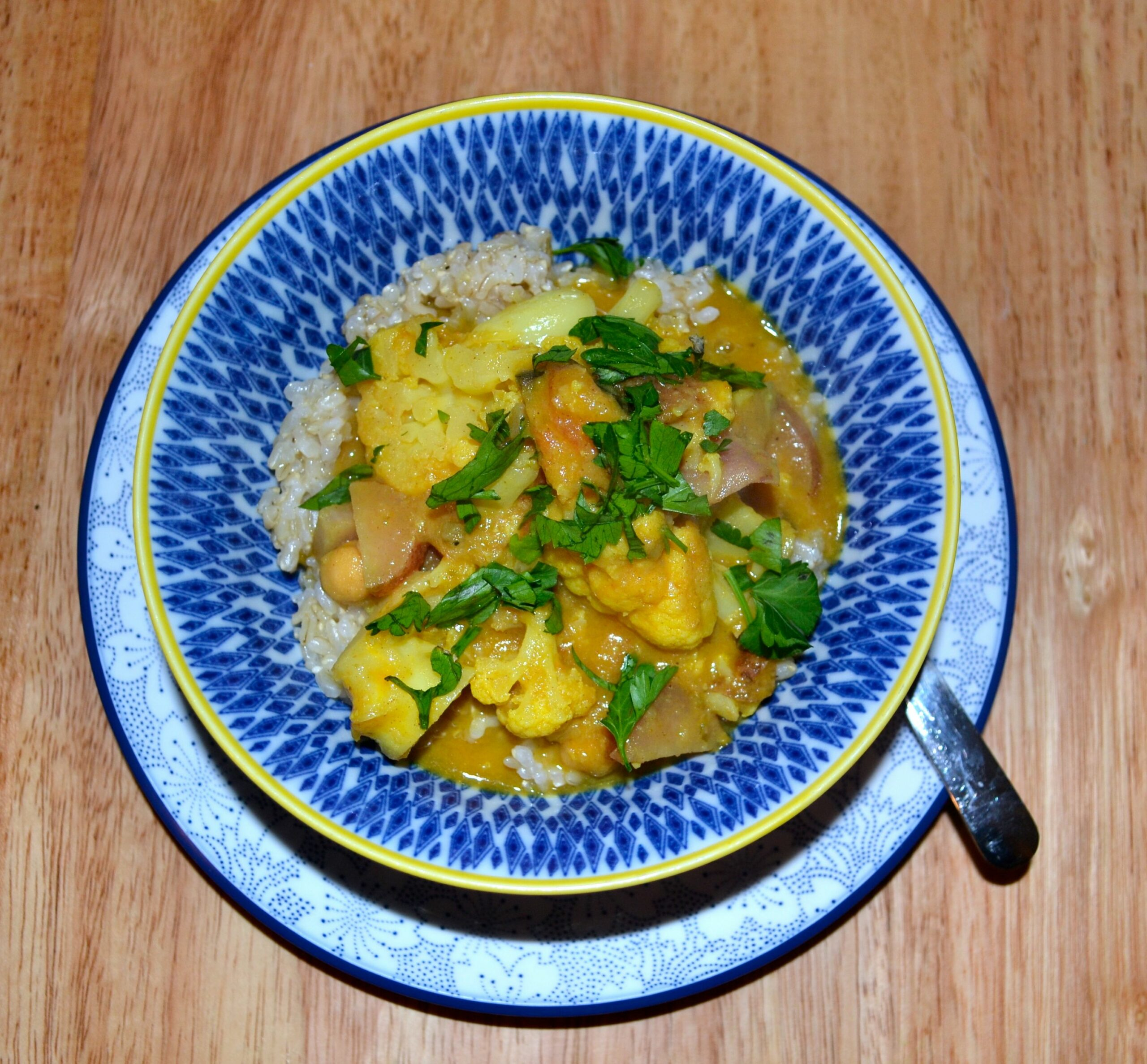 Healthy International Recipe: Kenyan Vegetarian Coconut Curry with ..