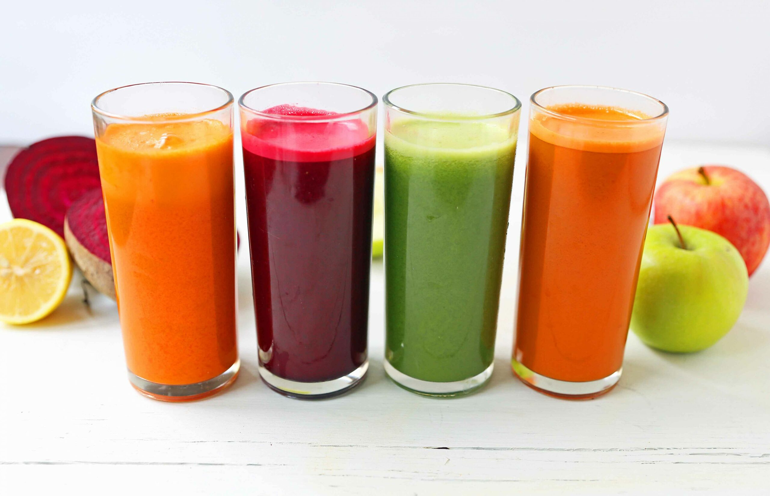 Healthy Juice Cleanse Recipes - Recipes For Vegetable Juices To Detox