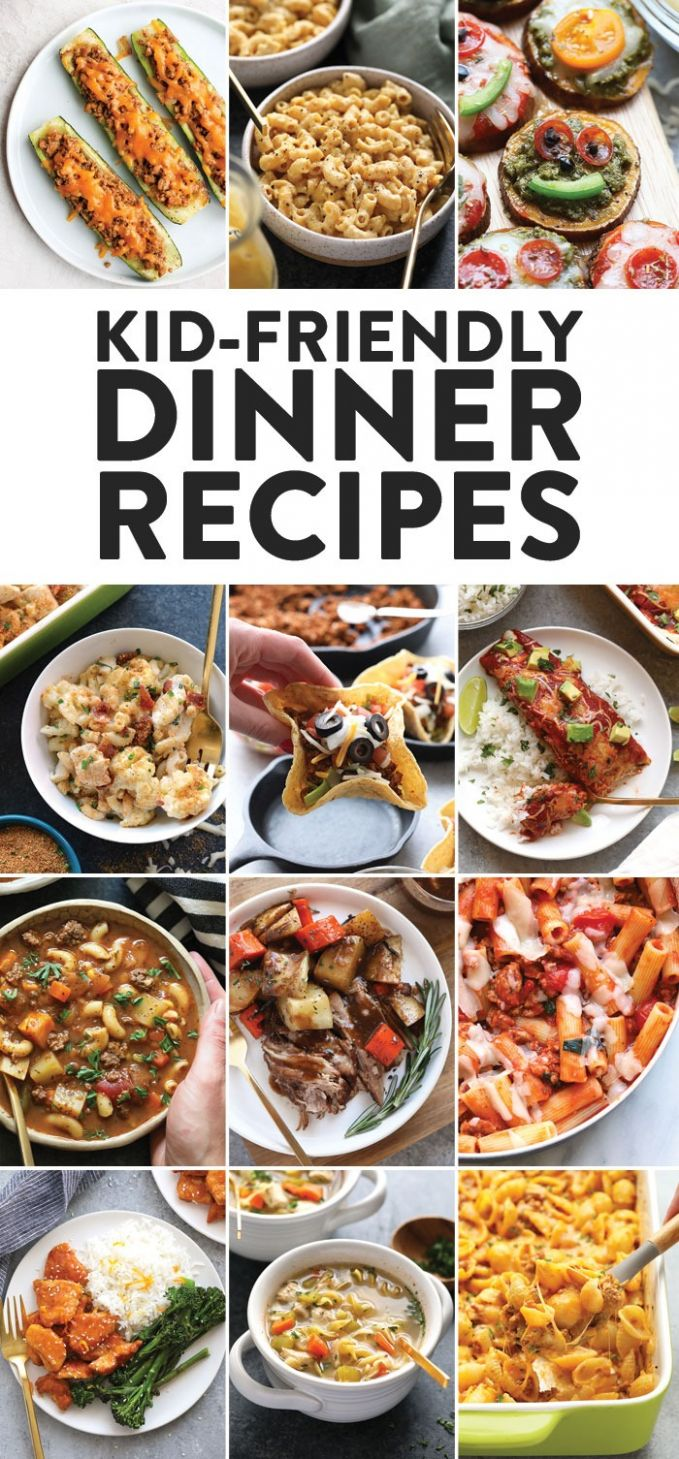 Healthy Kid Friendly Dinner Recipes (8+ Recipes) - Fit Foodie Finds - Food Recipes Kid Friendly