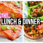 Healthy Lunch Ideas & Dinner For School – Dinner Recipes Youtube