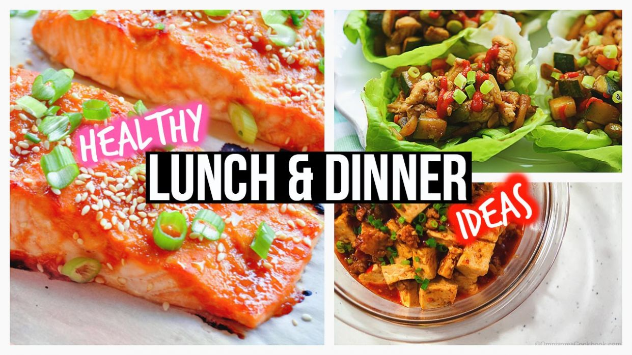 Healthy Lunch Ideas & Dinner For School - Dinner Recipes Youtube