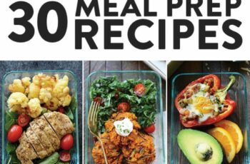 Healthy Meal Prep Recipes 12 Ways - Fit Foodie Finds