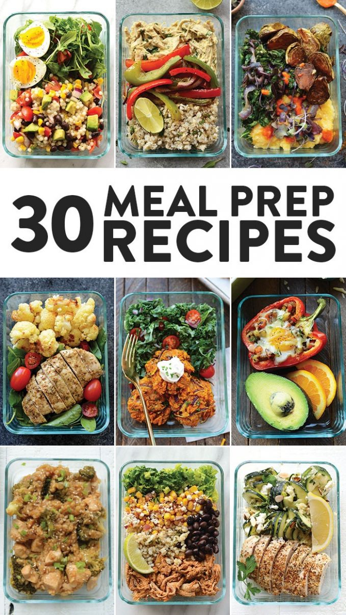 Healthy Meal Prep Recipes 8 Ways - Fit Foodie Finds - Dinner Recipes Meal Prep