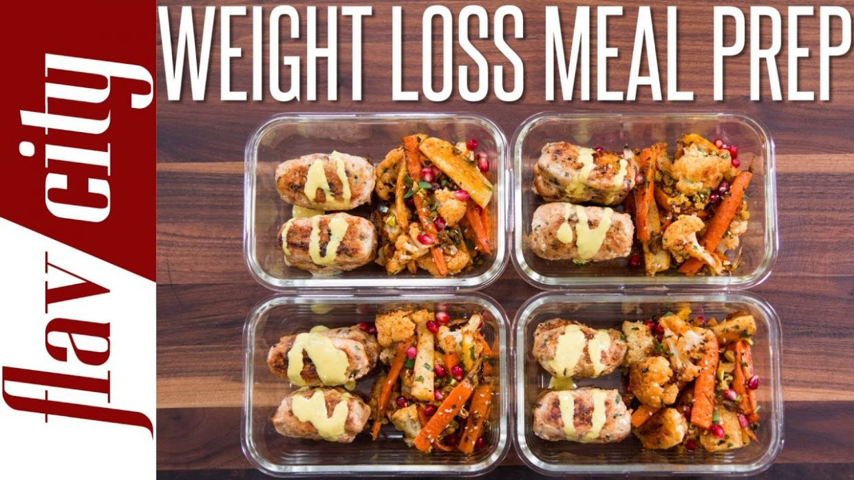 Healthy Meal Prepping For Weight Loss - Tasty Recipes For Losing Weight - Recipe Of Weight Loss Food