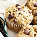 Healthy Moist Vegan Zucchini Muffins W/ Chocolate Chips (Gluten Free,  Egg Free, Easy) – Healthy Recipes Zucchini Muffins