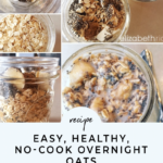 Healthy No Cook Overnight Oats – Healthy Recipes Oats