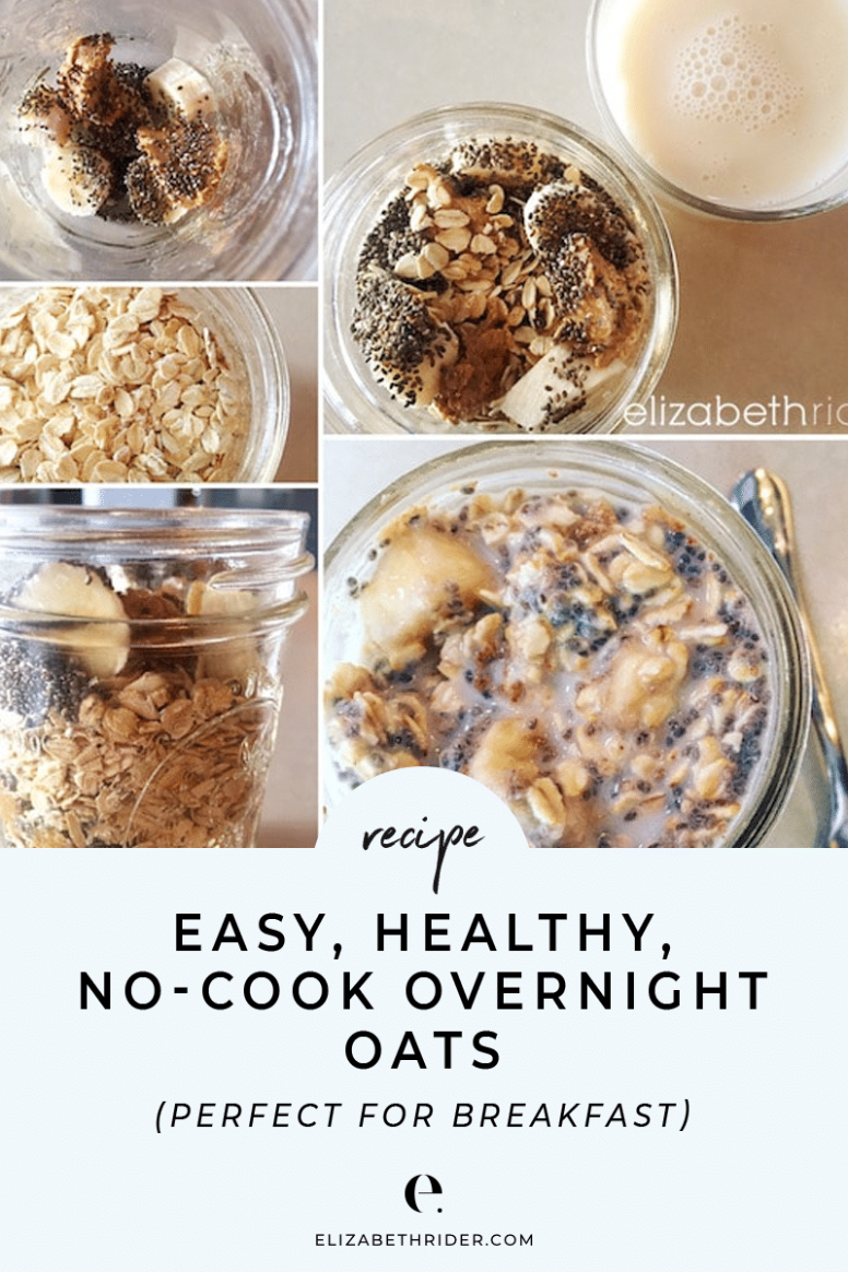 Healthy No-Cook Overnight Oats - Healthy Recipes Oats
