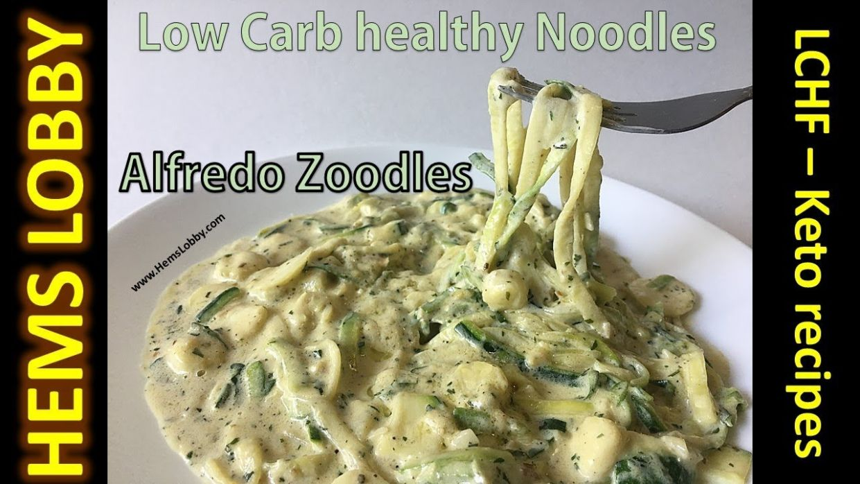 Healthy noodles for weight loss | Zucchini alfredo noodles recipe in Tamil  (eng title)| Keto recipes - Healthy Zucchini Recipes For Weight Loss