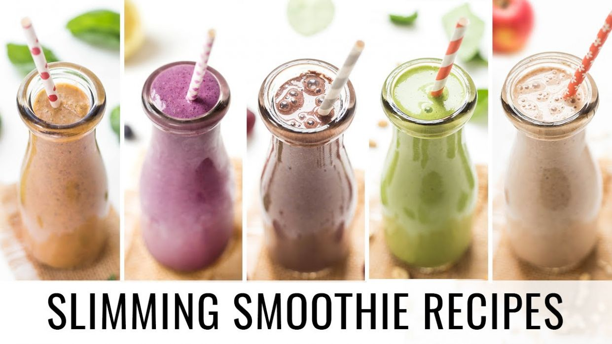 HEALTHY SMOOTHIE RECIPES | 9 smoothies for weight loss - Smoothie Recipes For Weight Loss Meal Replacement