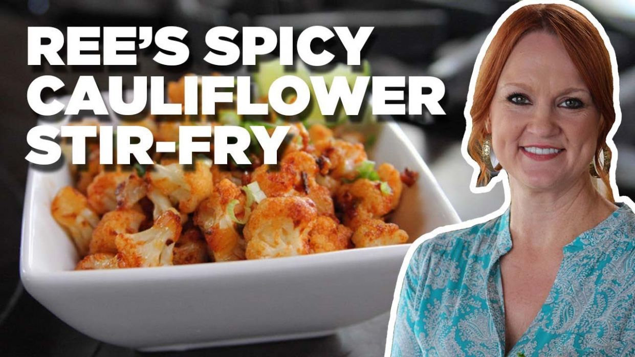 Healthy Spicy Cauliflower Stir-Fry with Ree Drummond | Food ..