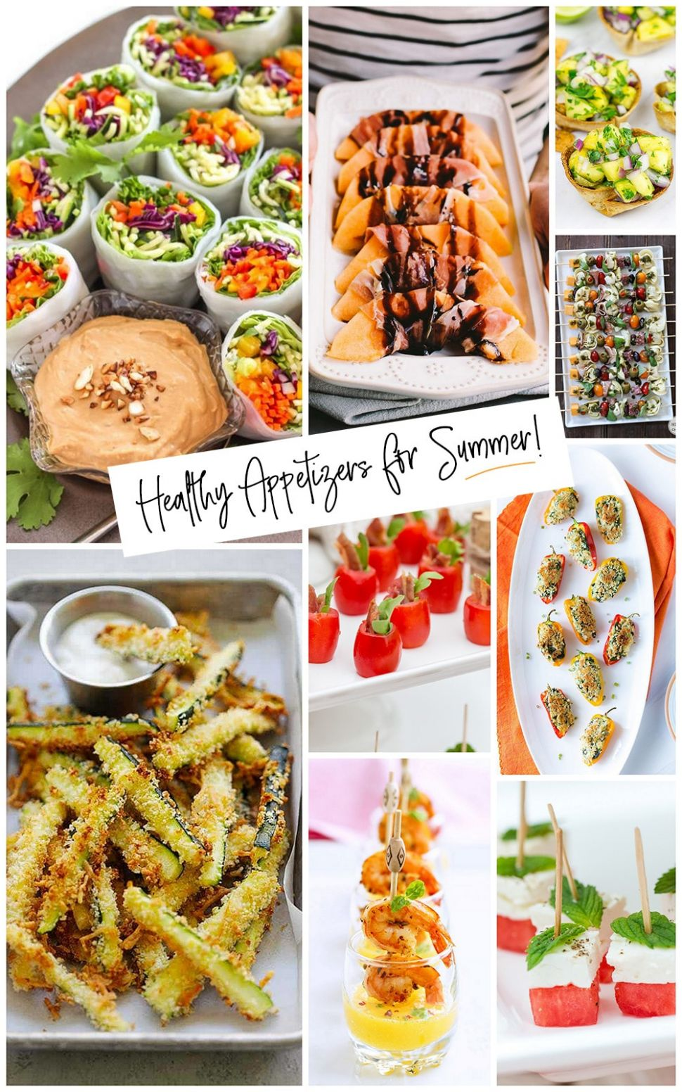 Healthy Summer Appetizers Easy & Delish - Pizzazzerie - Summer Recipes Delish