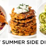 HEALTHY SUMMER SIDES ‣‣ Quick & Easy Summer Recipes – Summer Recipes Healthy Easy