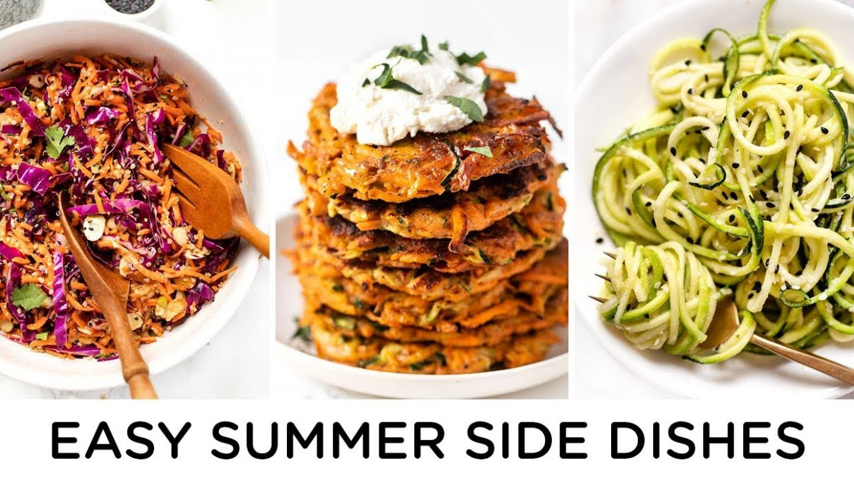 HEALTHY SUMMER SIDES ‣‣ quick & easy summer recipes - Summer Recipes Healthy Easy