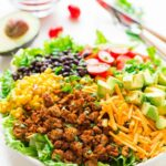 Healthy Taco Salad – Healthy Recipes Using Ground Turkey