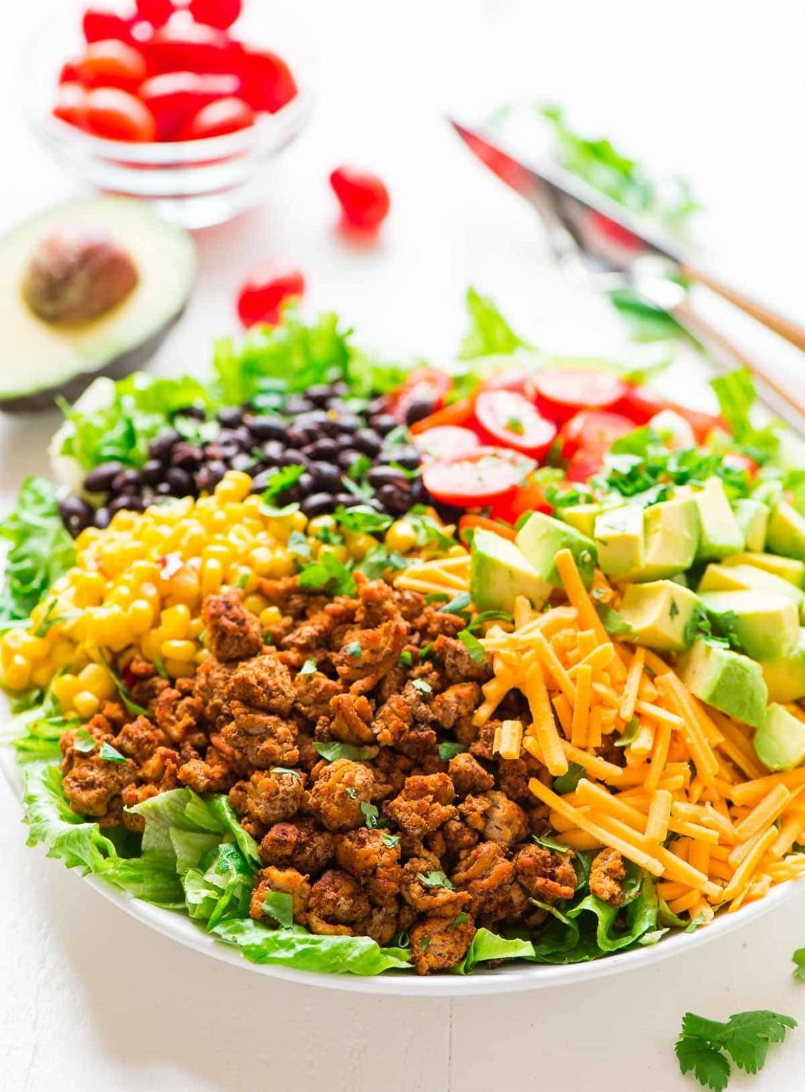 Healthy Taco Salad - Healthy Recipes Using Ground Turkey