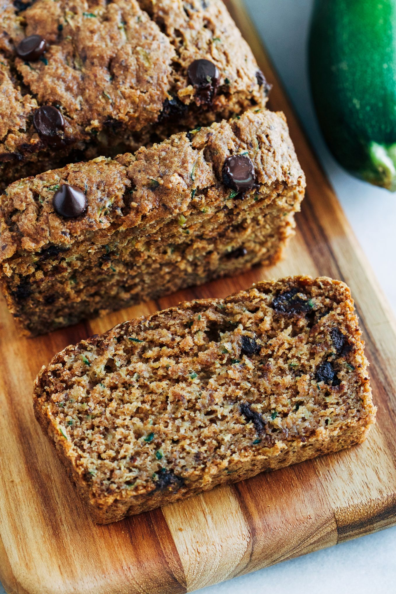 Healthy Vegan Zucchini Bread - Healthy Recipes Zucchini Bread