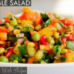 Healthy Vegetable Salad Recipe | Quick And Easy Vegetable Salad |  EasyCookingWithShilpa – Recipes Of Vegetable Salad