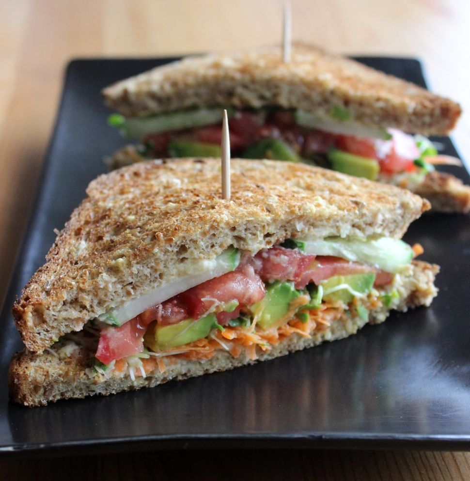 Healthy Work Lunches   POPSUGAR Fitness - Sandwich Recipes To Take To Work