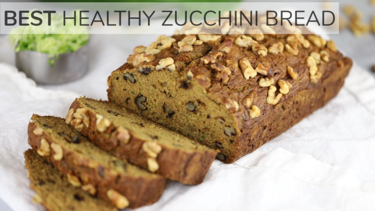 Healthy Zucchini Bread « Clean & Delicious - Healthy Recipes Zucchini Bread