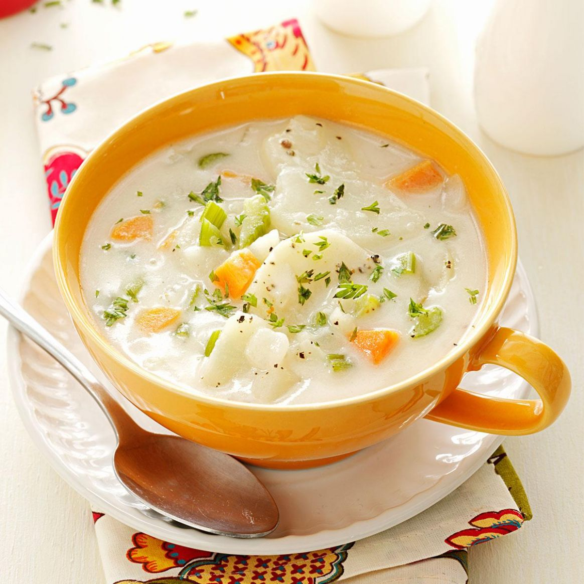 Hearty Potato Soup - Soup Recipes Taste Of Home
