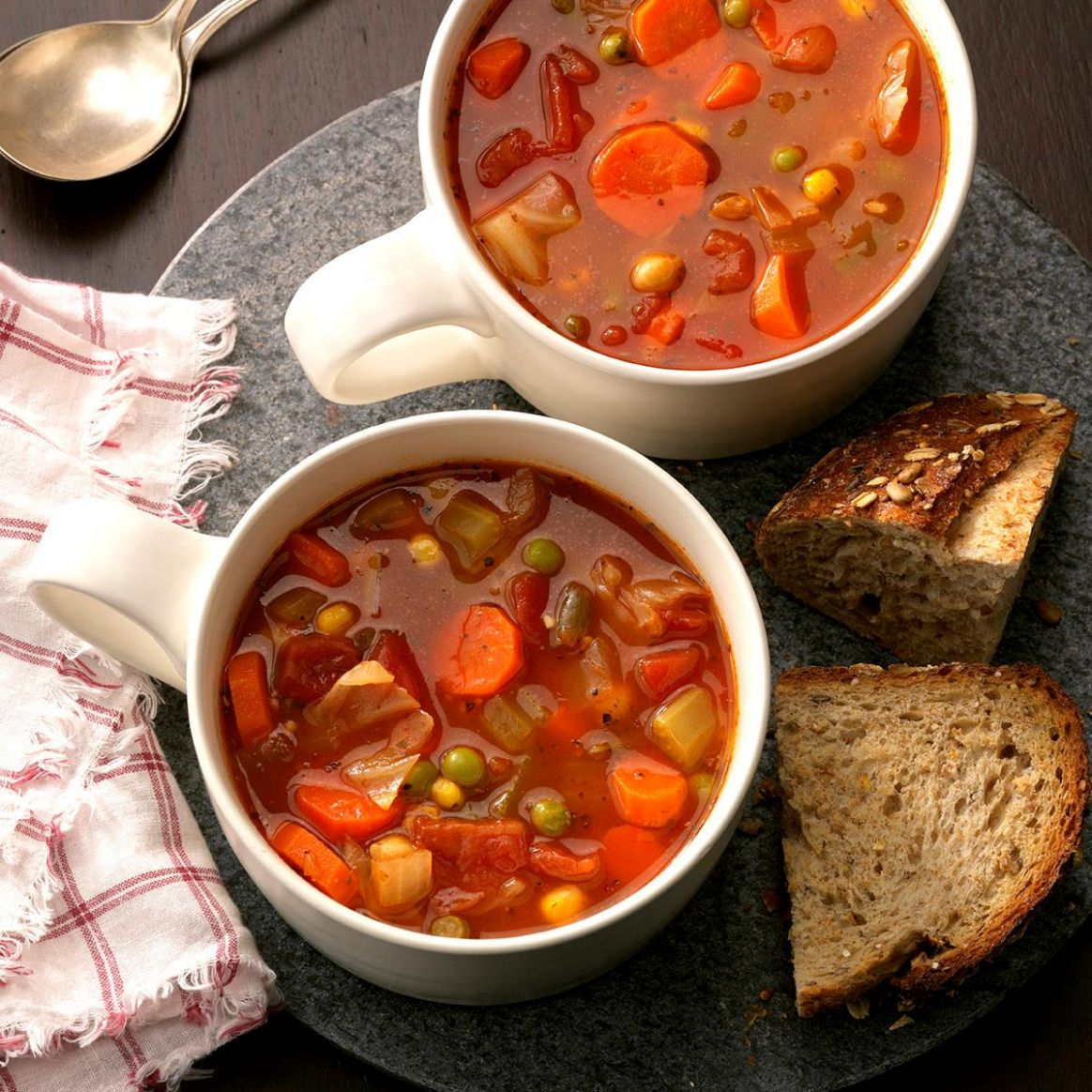 Hearty Vegetable Soup - Soup Recipes For Diabetics