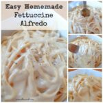 Heavy Cream Fettuccine Alfredo – Num's The Word – Dinner Recipes With Heavy Cream