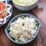 Herbed Buttered Rice Recipe With Green Peas – Recipes Rice And Peas