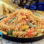 Herbed Fusilli In Pink Sauce By Tarla Dalal – Pasta Recipes Jain