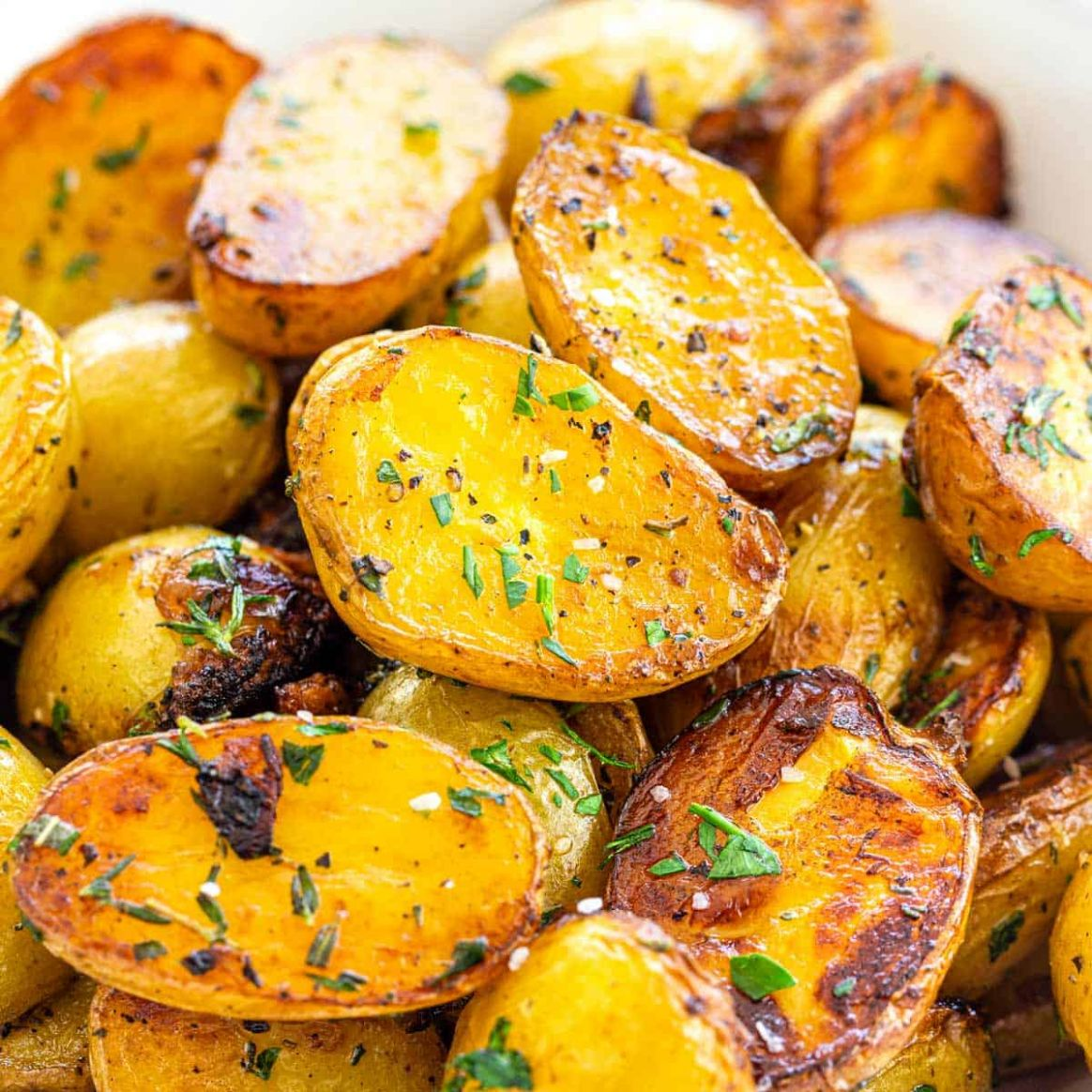 Herbed Skillet Potatoes - Potato Recipes On Stove Top