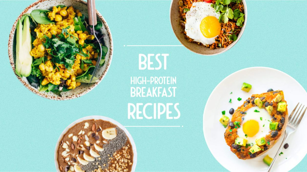 High-Protein Breakfast Recipes - Breakfast Recipes Protein