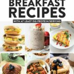 High Protein Breakfast Recipes (w/ At Least 11g Protein) – Fit ..
