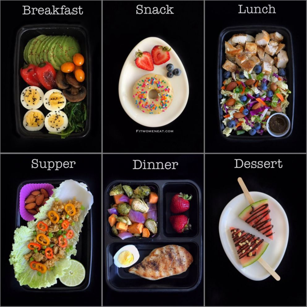 High Protein-Low Carb Meal Prep Breakdown - Fit Women Eat - Healthy Recipes High Protein Low Carb