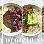 HIGH PROTEIN VEGAN MEALS | 9 Recipes = 9g Protein – Vegetable Recipes High In Protein