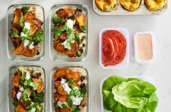 High-Protein Vegetarian Meal Prep for 112 Week of Meals in 12 Hours ...