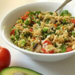 High Raw Rice Salad [Vegan, Gluten Free] – Recipes With Raw Rice