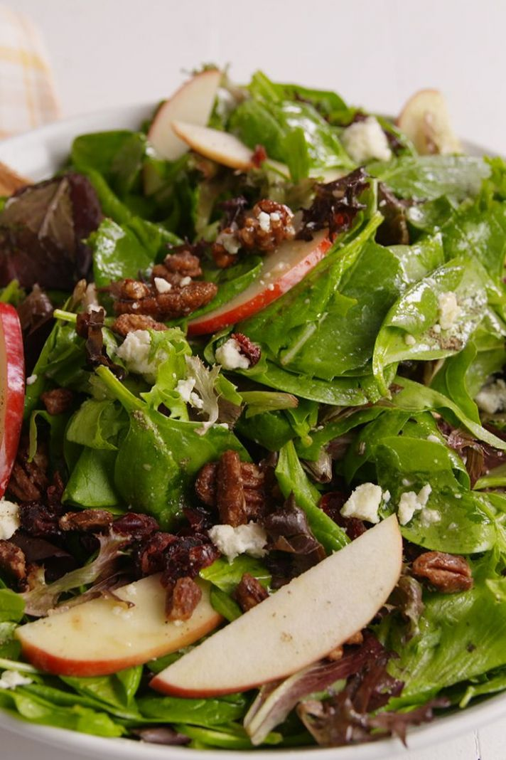 Holiday Apple Salad - Salad Recipes For Dinner Party