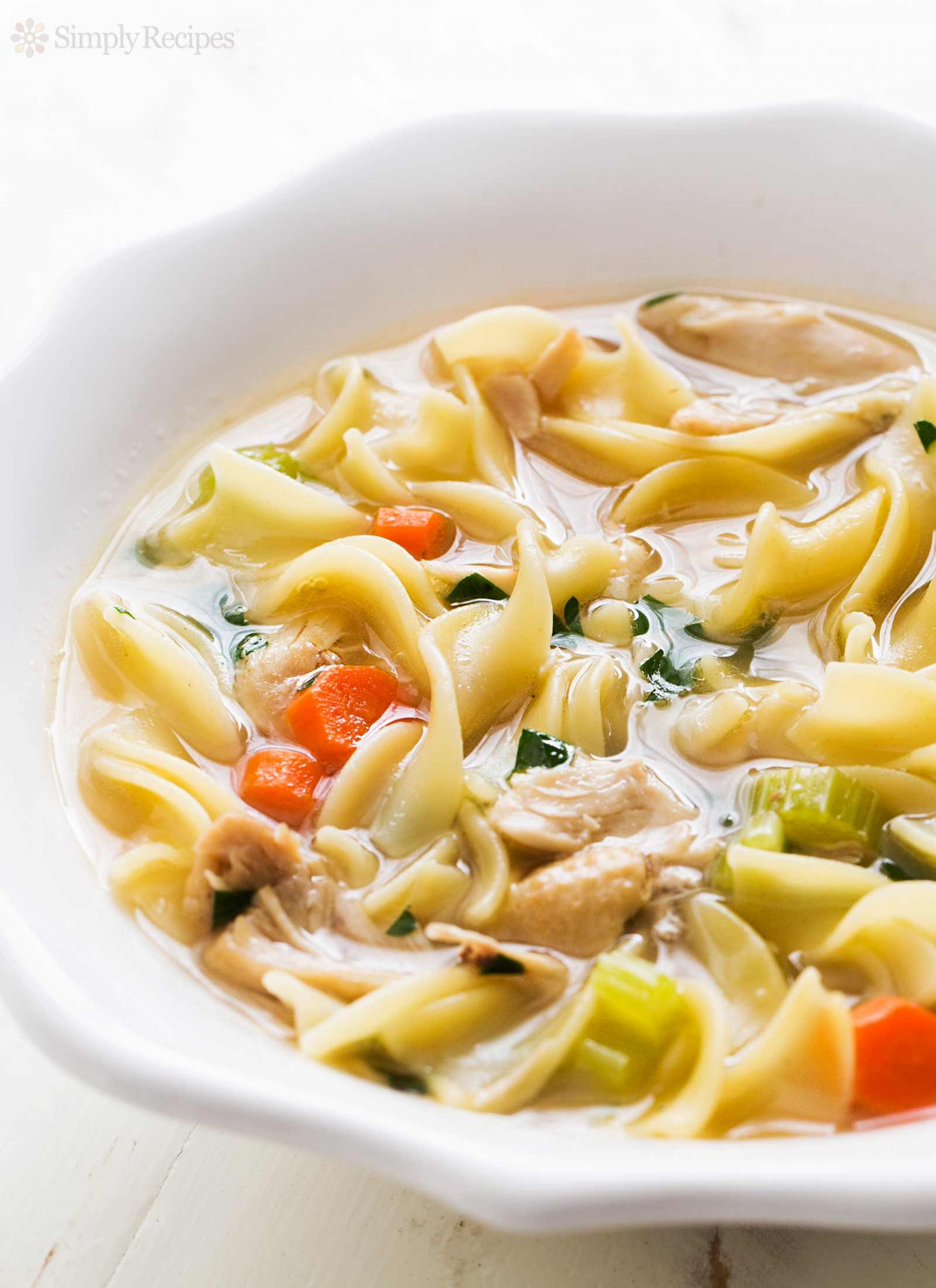 Homemade Chicken Noodle Soup - Recipes Chicken Noodle Soup Homemade
