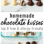 Homemade Chocolate Kisses, Top 11 Free (Video) • The Fit Cookie – Recipe Chocolate Kisses